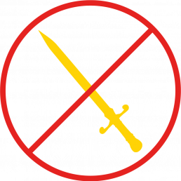 no swords