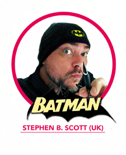 Stephen B Scott Batman Comic Con Gent